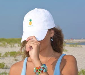 Pineapple Baseball Cap by Wave of Life