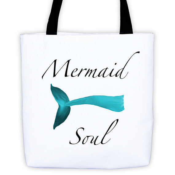 Mermaid Soul Tote Bag by Wave of Life