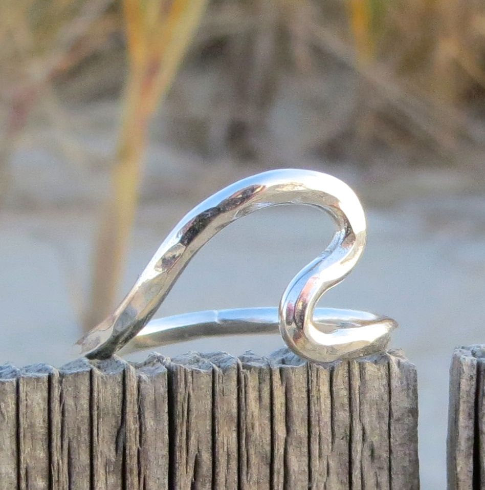 Endless Summer Wave Ring by Wave of Life