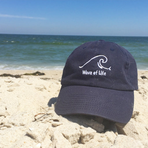 Wave of Life Beach Baseball Cap