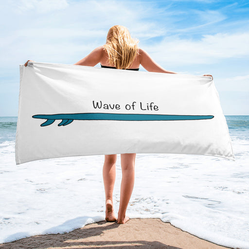 Surfboard Towel by Wave of Life