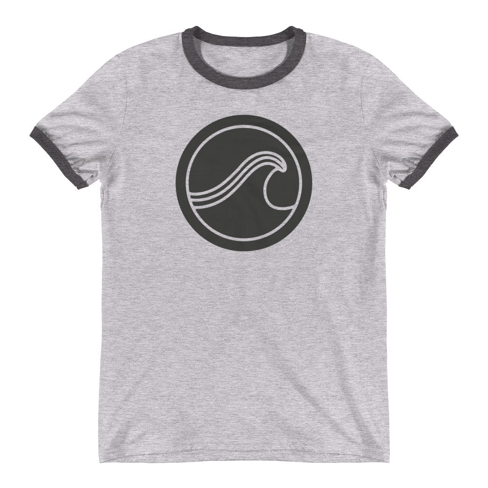 Wave of Life Ringer T-Shirt