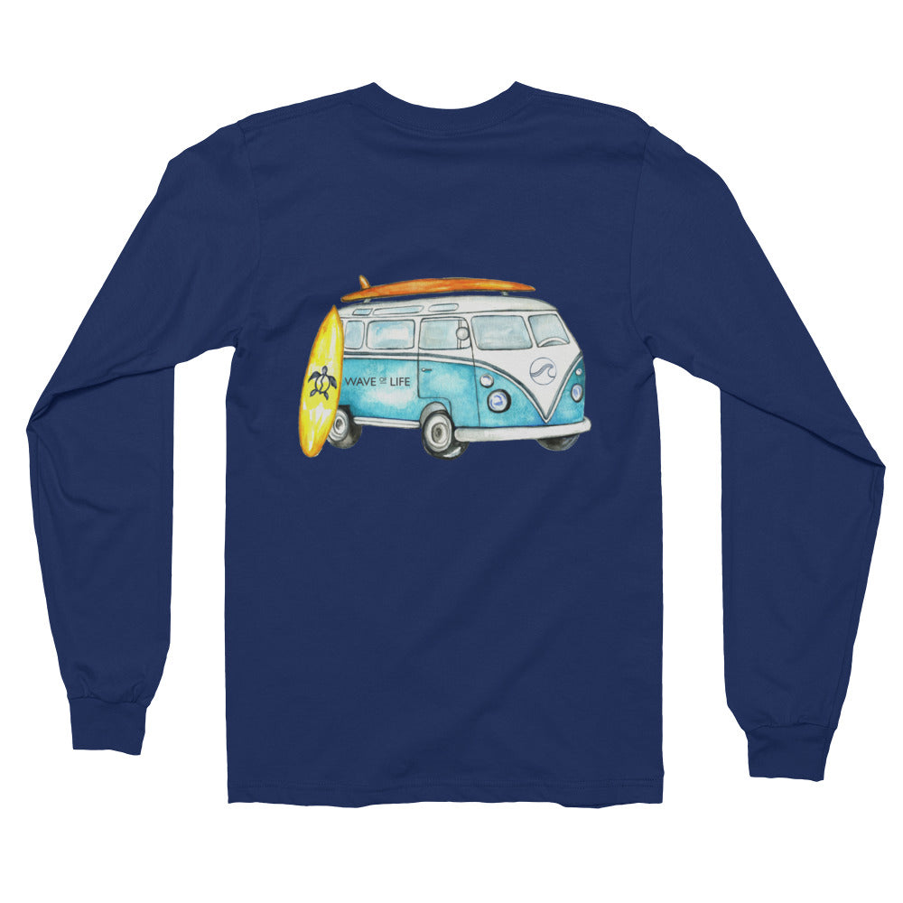 Road Trip Long sleeve Shirt Unisex by Wave of Life