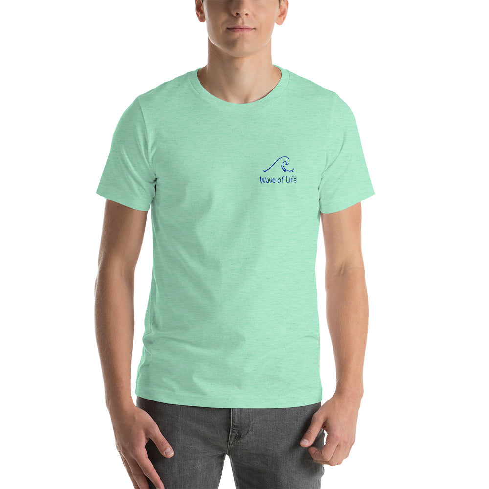 Original Wave of Life Logo Short-Sleeve Unisex T-Shirt
