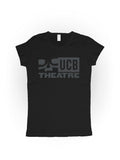 UCB LADIES Logo Tee - Black + Cool Grey Logo - NEW!
