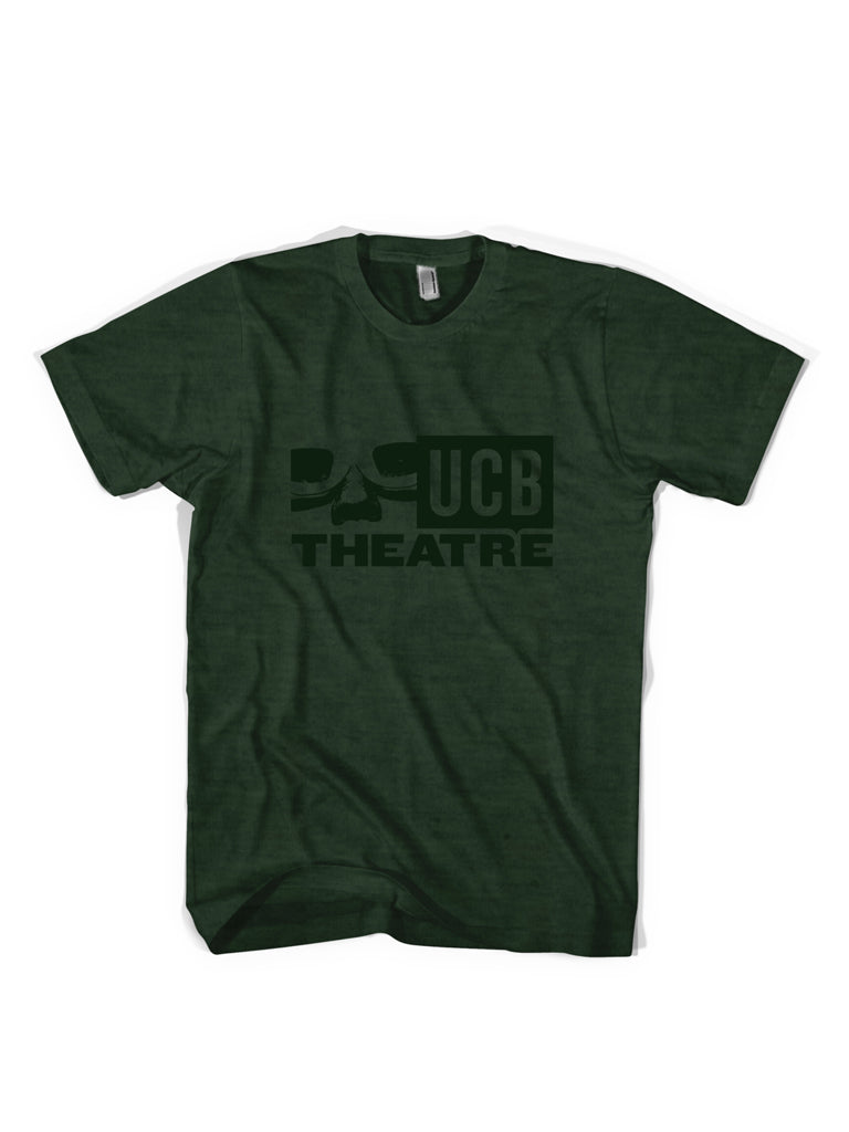 UCB Logo Tee - Olive Heather