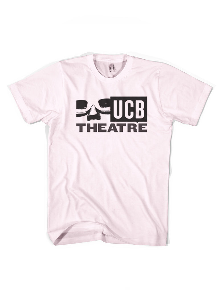 UCB Logo Tee - Charcoal On Pink - NEW for 2020!