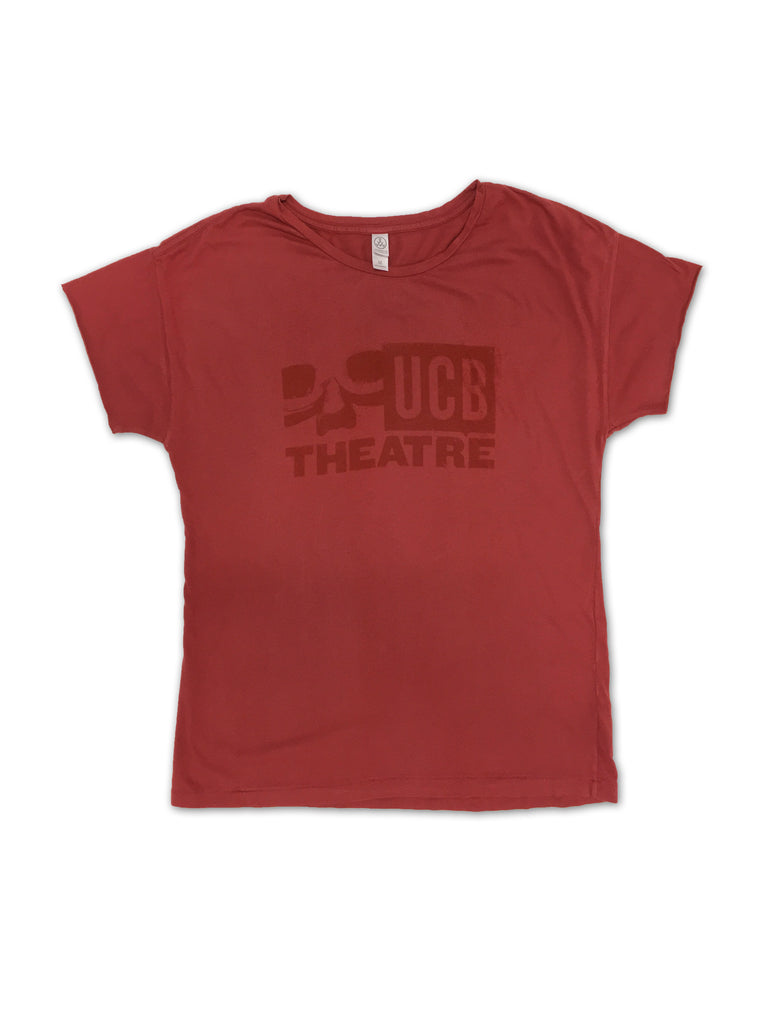 UCB Logo Tee - Red Ladies