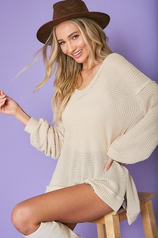 Jorie Lightweight Knit Sweater *low stock* - shoptula
