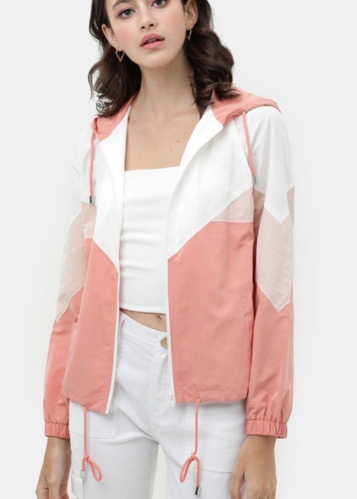 Peachy Keen Windbreaker - shoptula