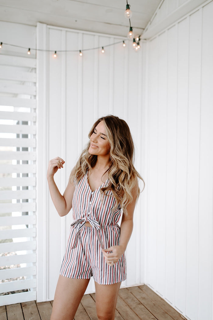 Backyard Romper - shoptula