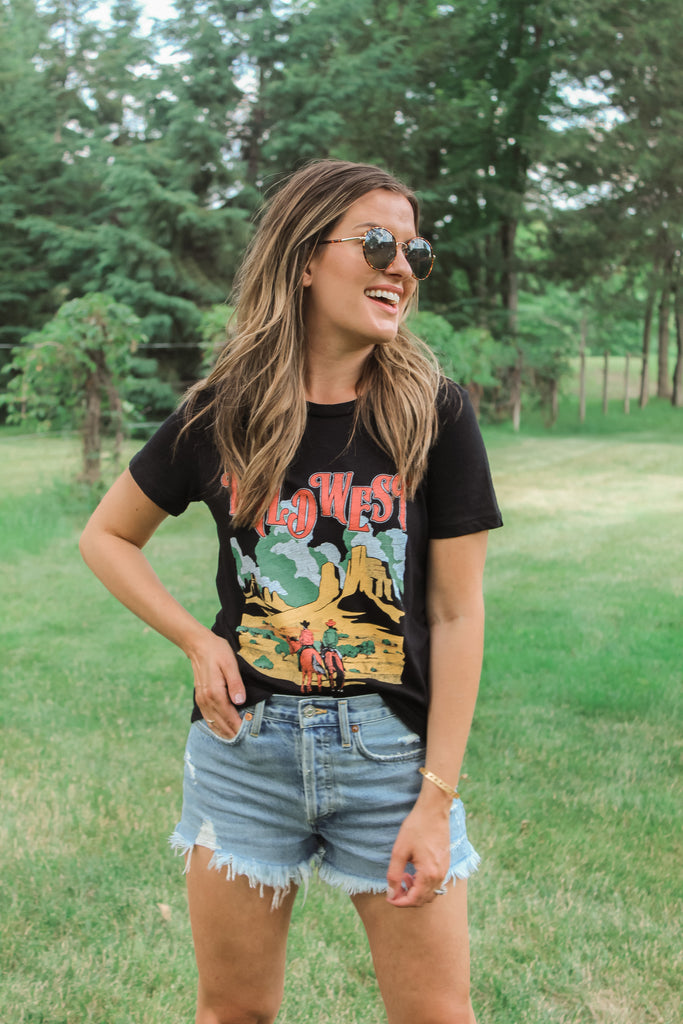 Wild West Graphic Tee - shoptula