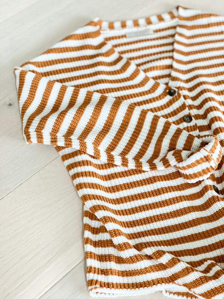 Brayden Button Up Tie Sweater *low stock* - shoptula