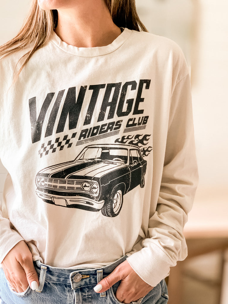 Vintage Rider Graphic Tee - shoptula