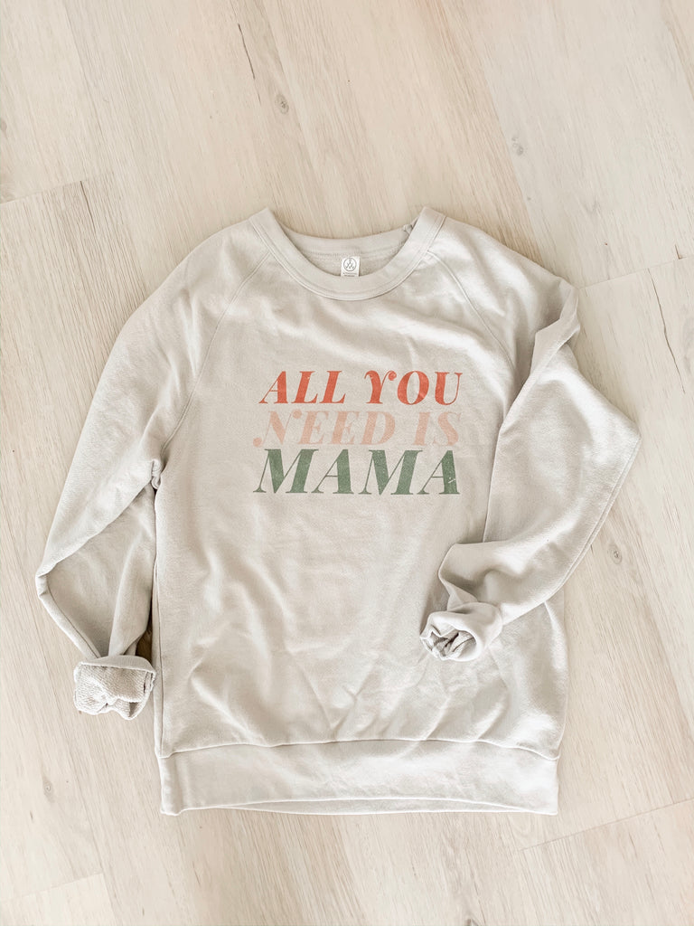 Mama Graphic Sweatshirt - shoptula