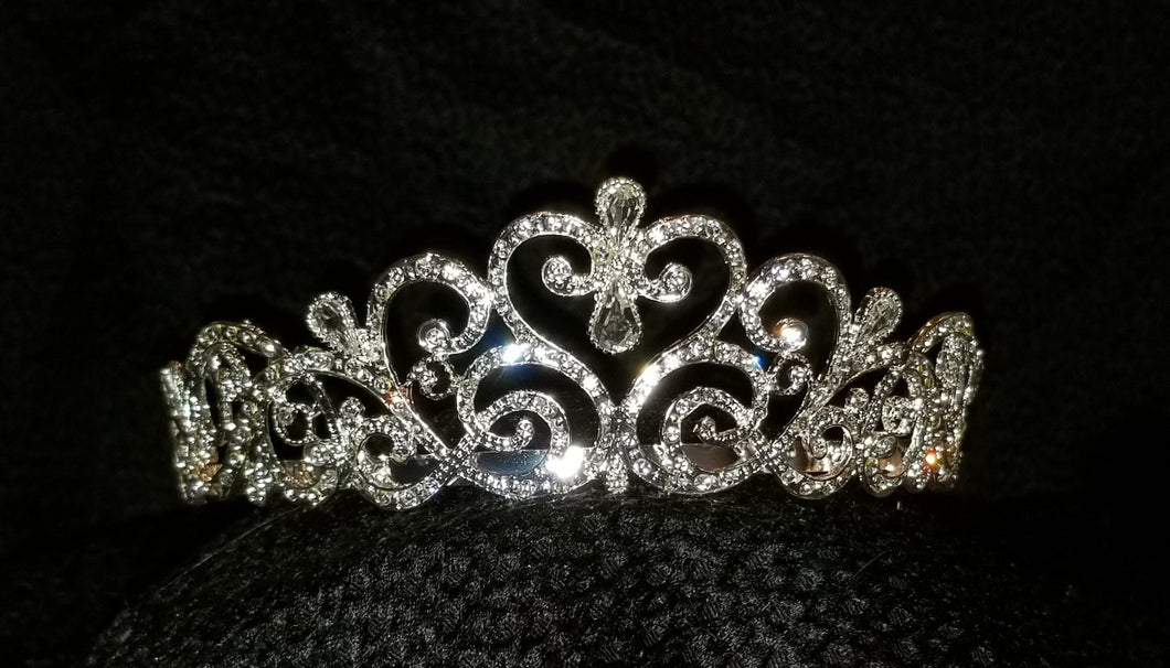 Perfect Pavé Crystal Tiara