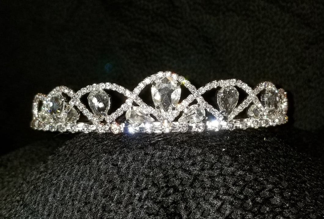 Dignified Duchess Crystal Tiara