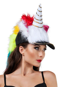 Unicorn Fuzzy Hat