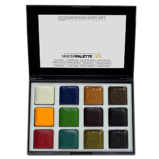 European Body Arts Alcohol activated palettes