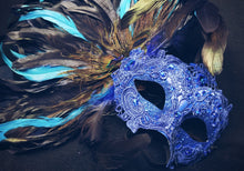 Plumed Masquerade Mask