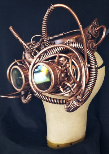 Steampunk Bat Goggles