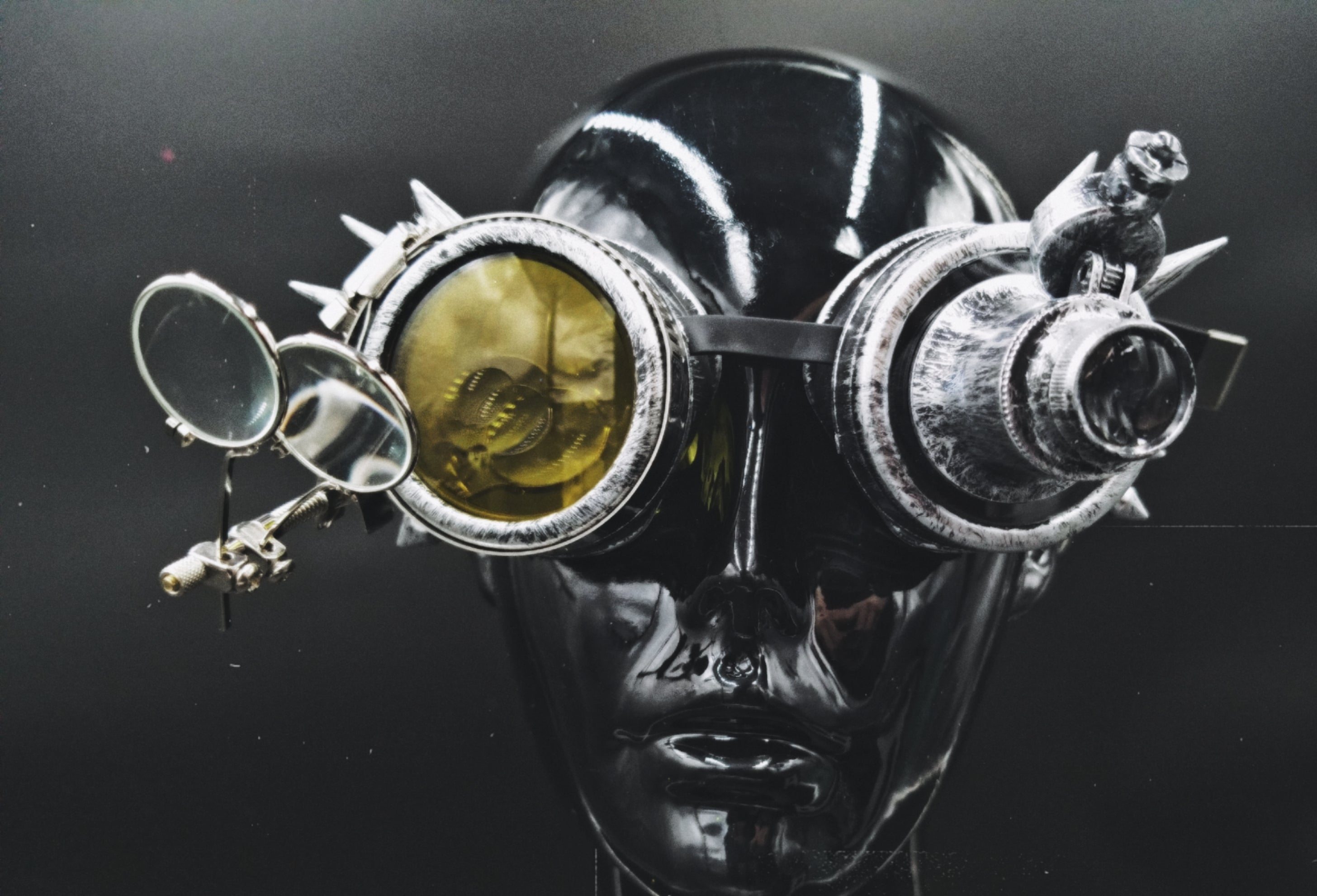 Goggles with Light and Magnifiers