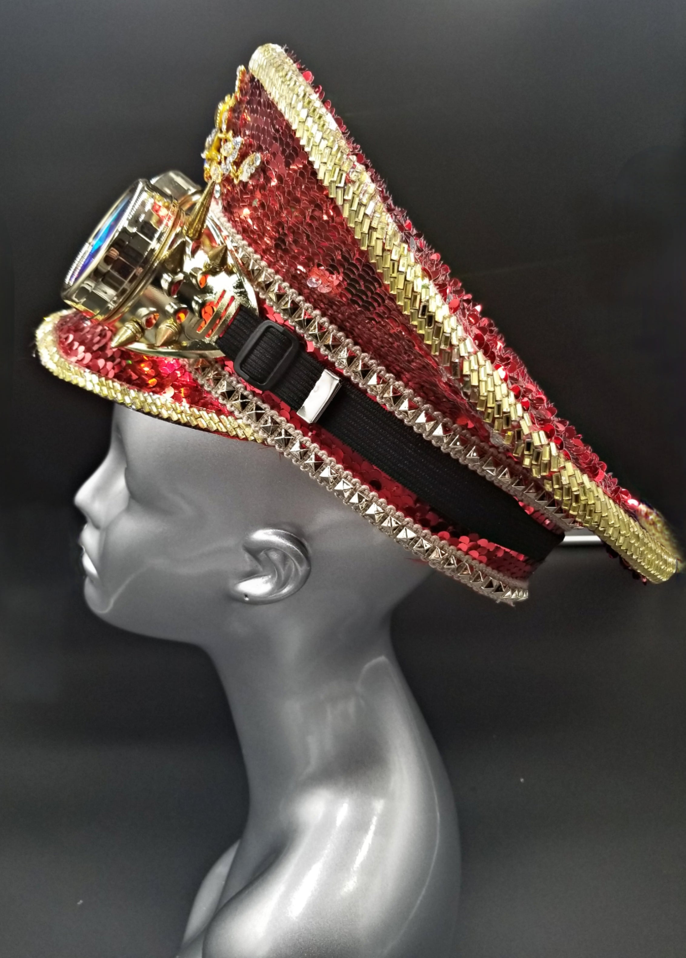 Red Sequin Hat