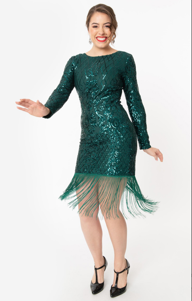 Emillion Flapper Dress