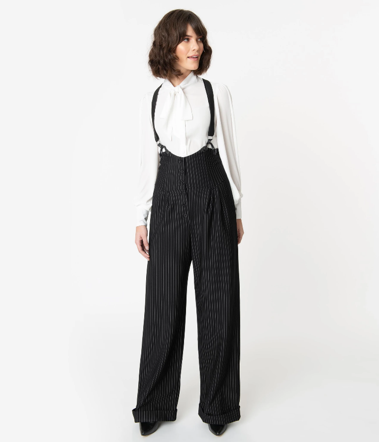 Thelma Suspender Pants