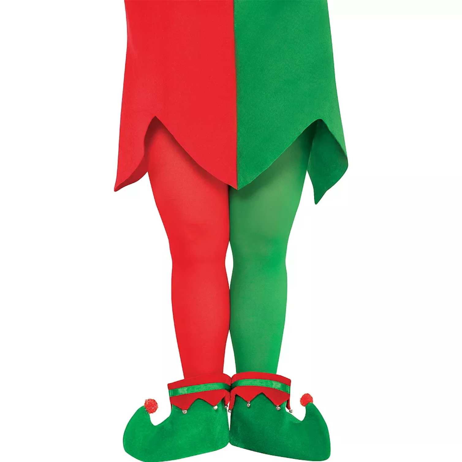 Two-Tone Elf Tights