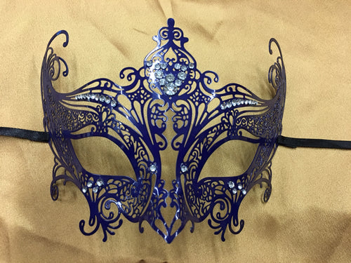 Blue Metal Mask