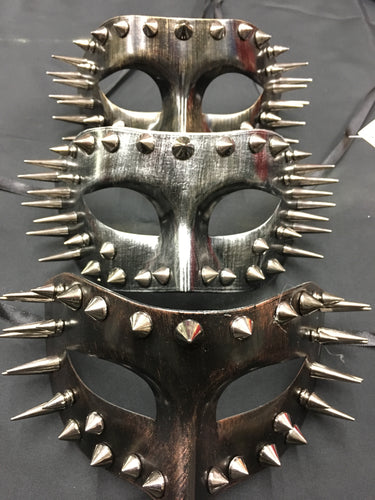Steampunk Spiked Mask