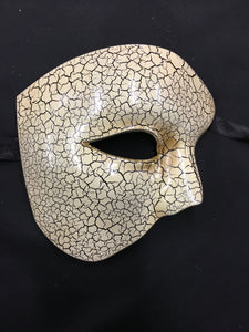 Venetian Crackle Phantom Mask