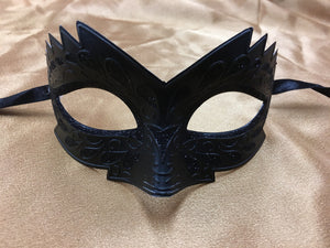Black Small Half Mask