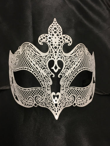 Metal Lace Mask