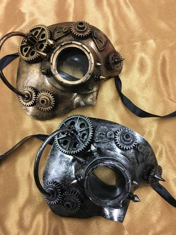 Steampunk Phantom Mask