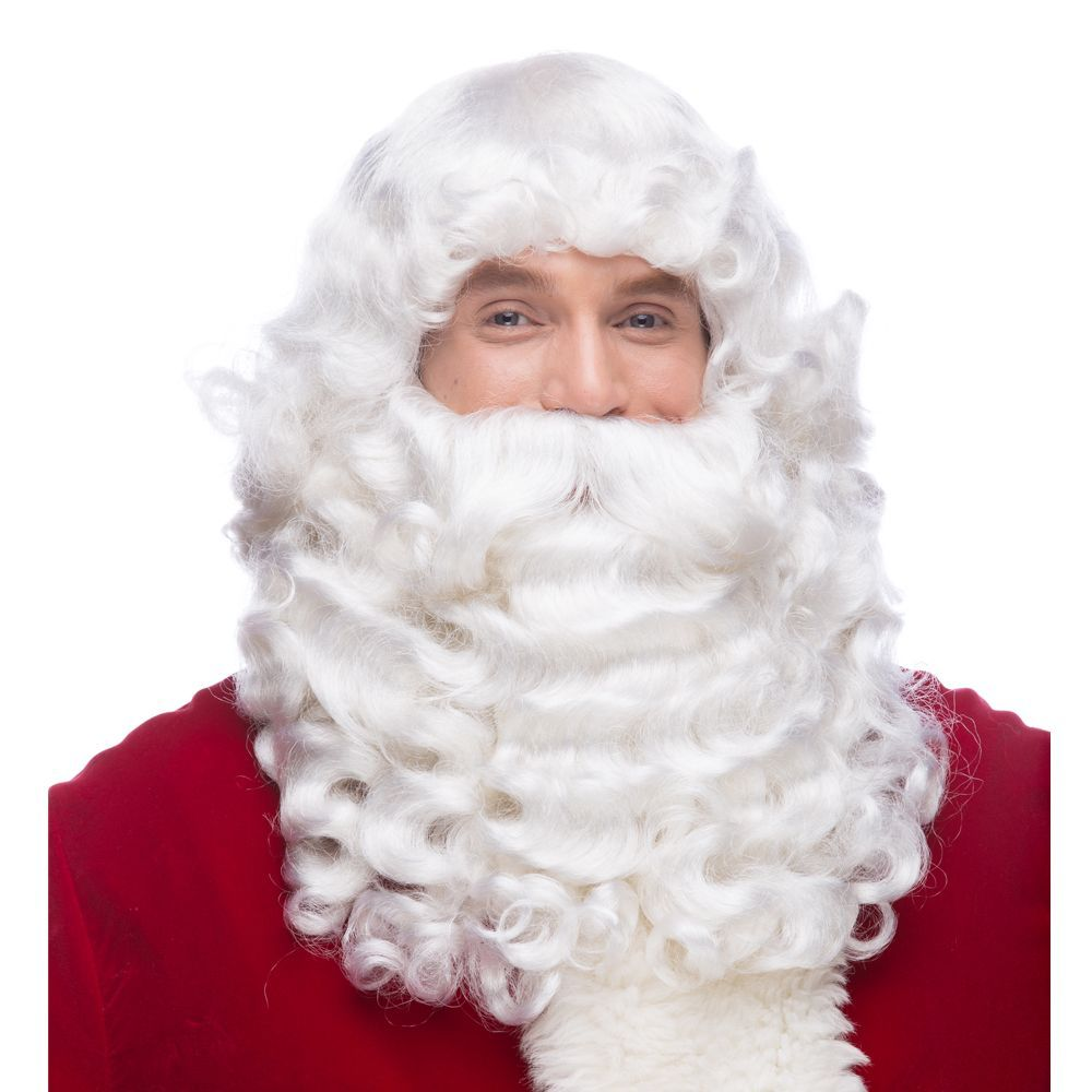 Santa Jumbo Wig & Beard Set (XL)