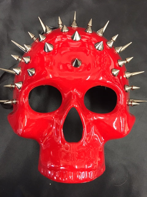 Steampunk Spiked Skull