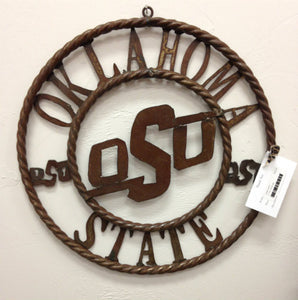 Oklahoma State University Metal Sign