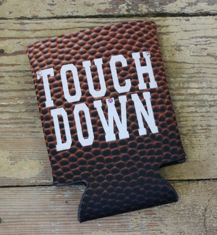 Touch Down Football Koozie