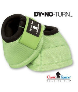 Lime Classic Equine Bell Boots