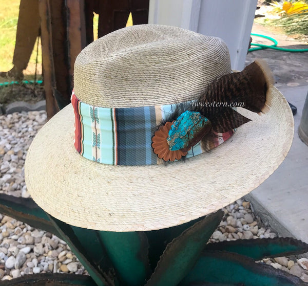 Serape Slab Palm Hat