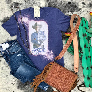 George Strait Blue Tee
