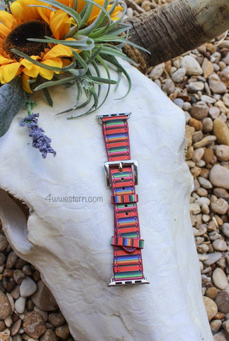 Serape Stripe Apple Watch Band