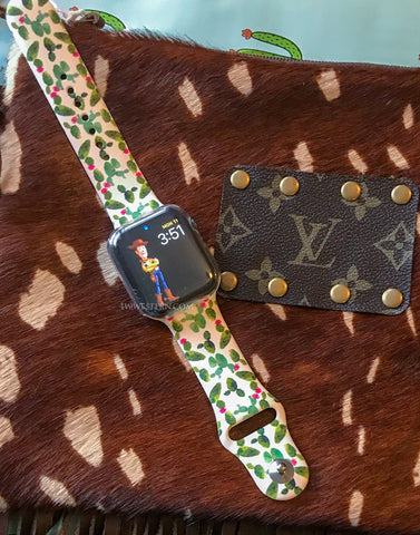 Silicon Cactus Apple Watch Band