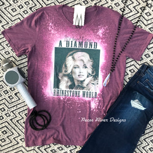 Dolly Dyed Tee