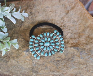 Southwest Turquoise Hair Tie