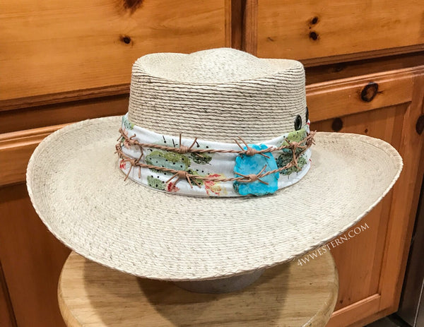 Desert Gypsy Cactus Palm Hat