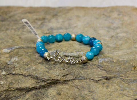 love Crystal Bracelet