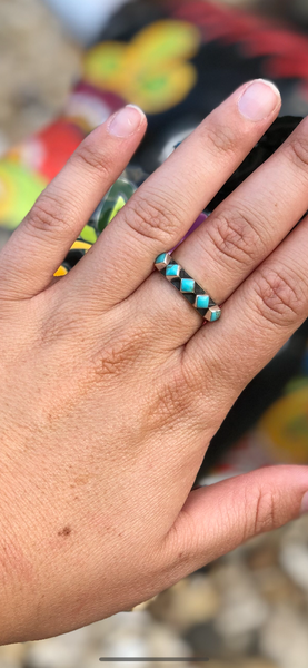 Turquoise Chica STERLING Ring